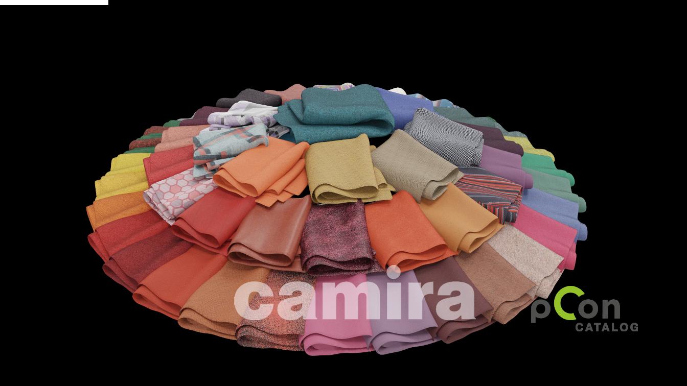 Camira   nieuw in pCon.catalog