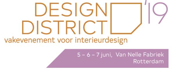 Design District 2019 is van start!