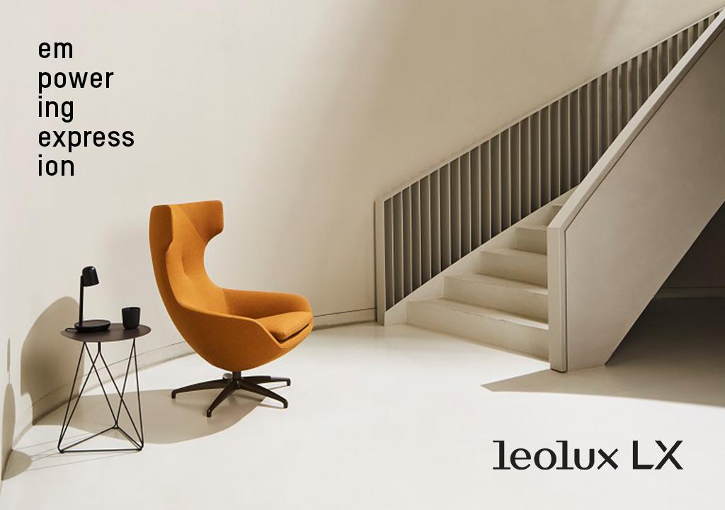 Nu in de pCon.planner productenbibliotheek: fauteuils en stoelen van Leolux LX