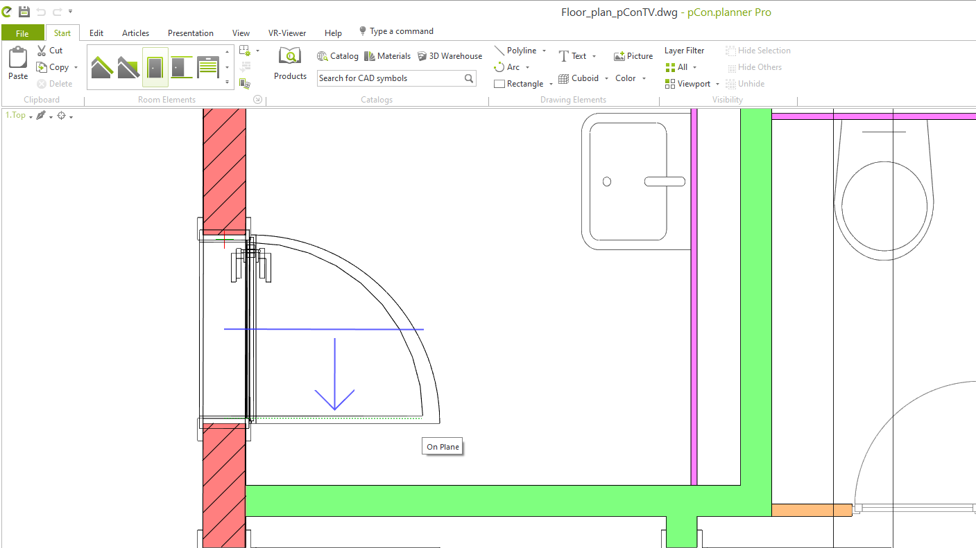 pCon.planner: Intuitive and dimensionally accurate drawing of floor plans floor plan draw floor plan architect