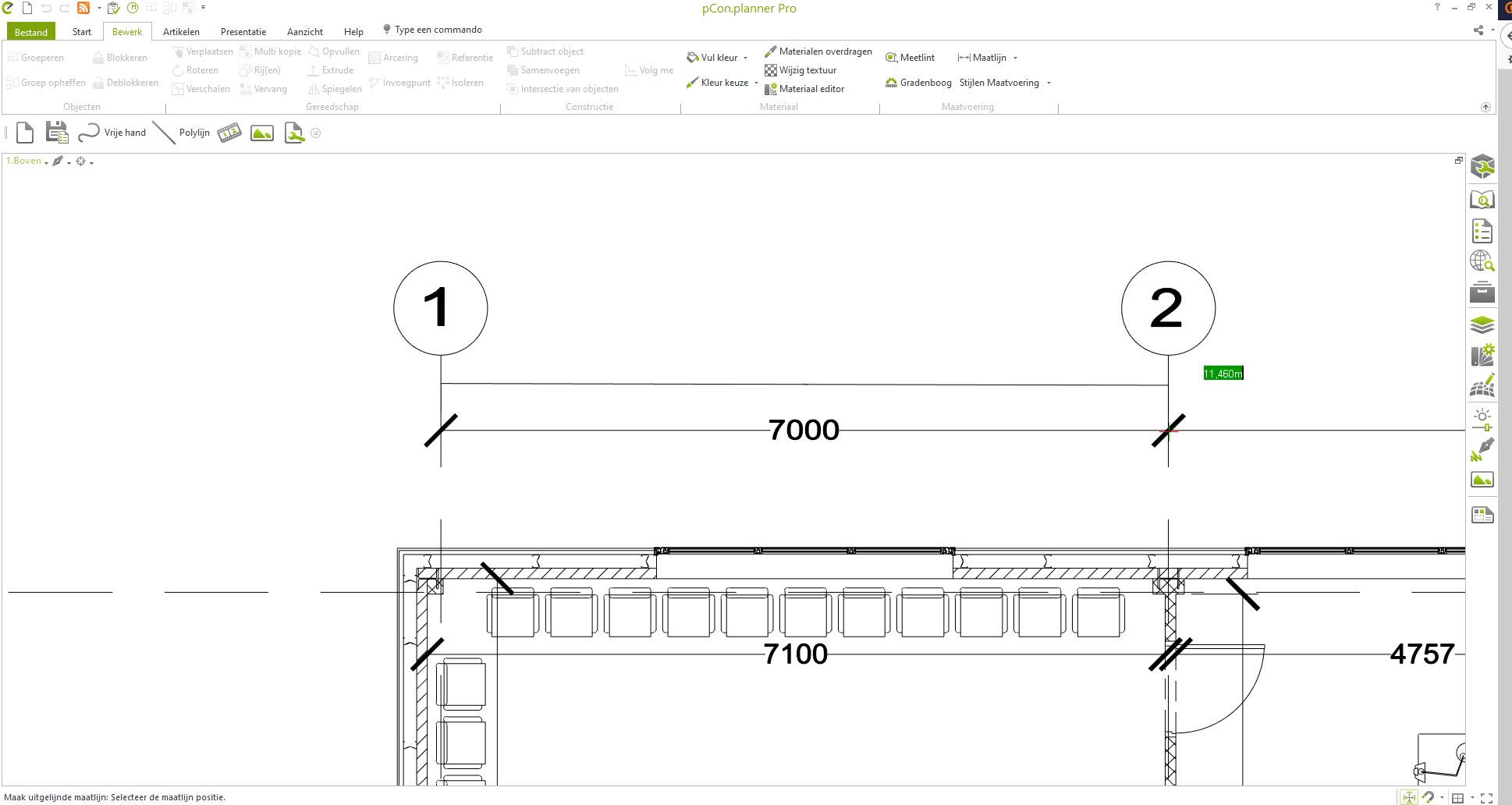 pCon.planner: Geïmporteerde plattegronden verschalen