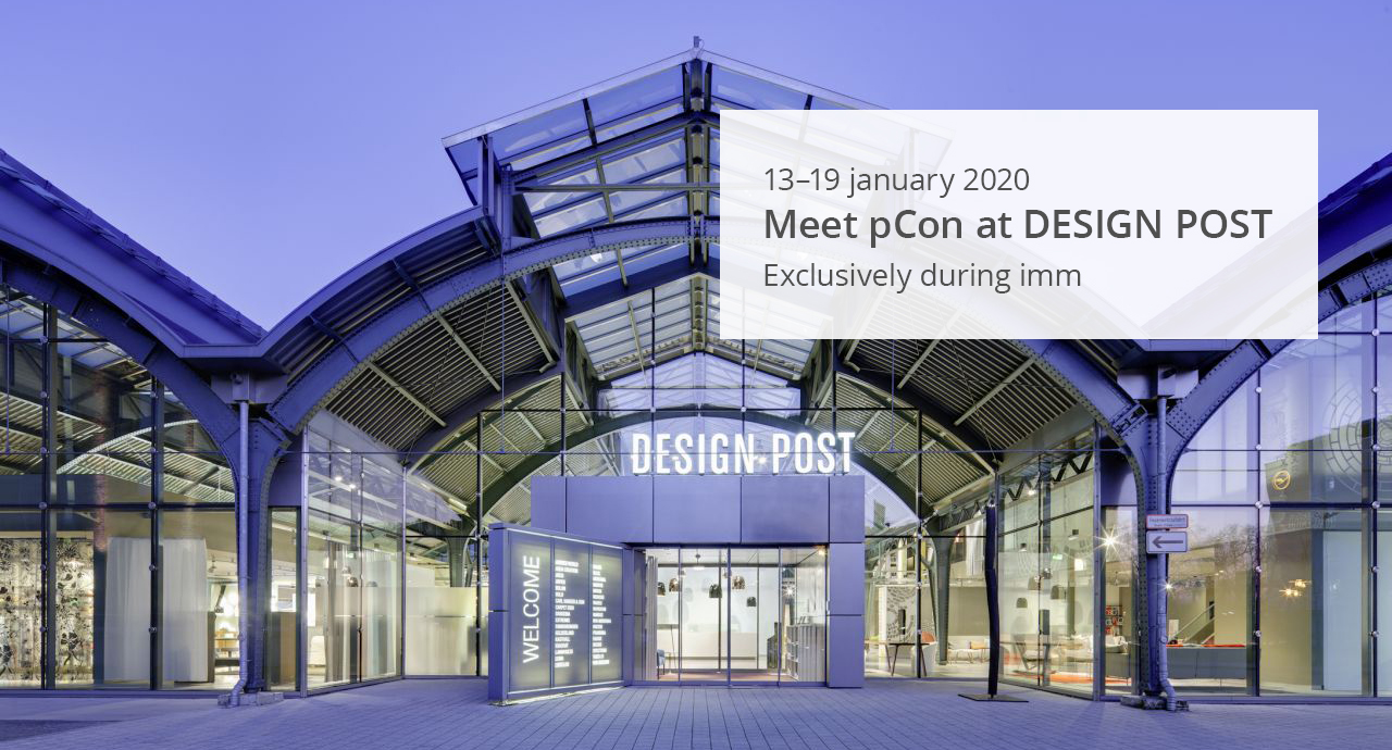 Meet pCon at DESIGN POST