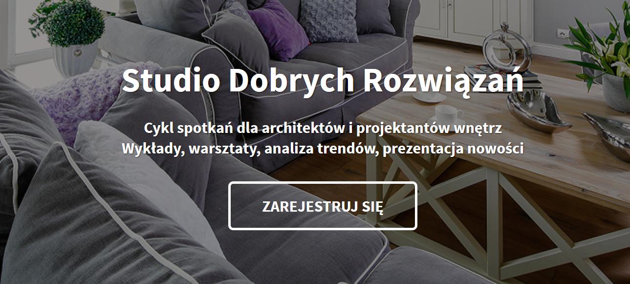 Projektujesz? Nie przegap!   Studio Dobrych Rozwiązań | Katowice 17.10