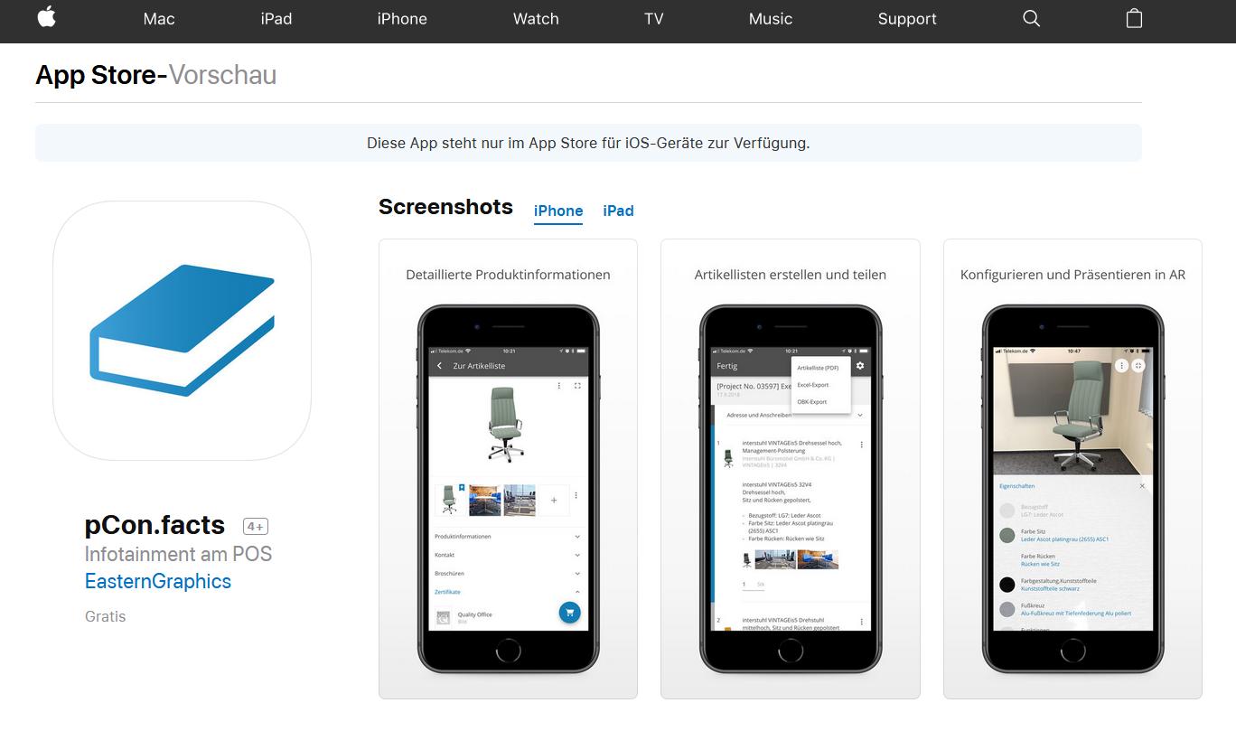 Bezpłatny pCon.facts już dostępny w Apple App Store!