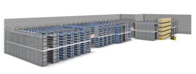 Configuração da SSI Schaefer de um sistema de armazenamento utilizando o pCon.planner