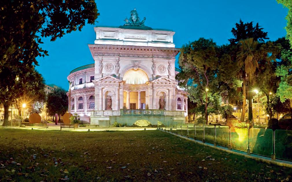 Casa da arquitetura, Roma, Itália