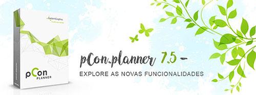 pCon.planner 7.5 está disponível! render simplificado pCon.planner 7.5