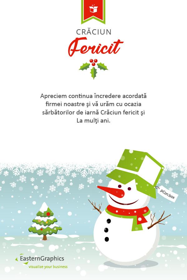 EasternGraphics vă urează Crăciun Fericit si La Mulți Ani!