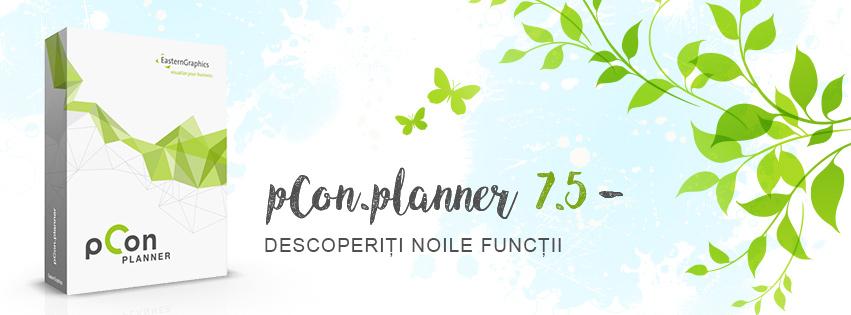 pCon.planner 7.5 e online! pCon.planner 7.5 design interior aplicatie amenajari interioare