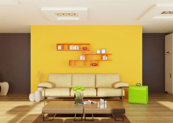 yellow-mustard-wall-decor