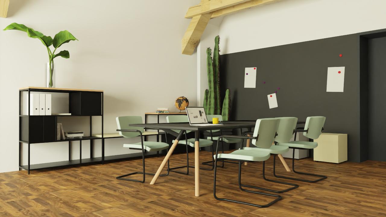 pCon.catalog: Huislijn Kantoormeubelen pCon.catalog modele CAD mobilier inspiratii