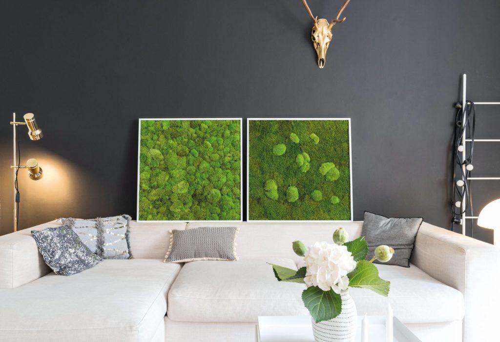 Imagine: styleGREEN (de la FlowerArt GmbH) styleGREEN tablouri din plante naturale si muschi