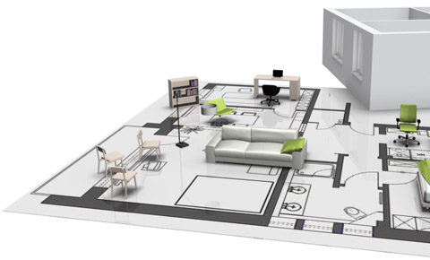Space Planning. Interior design